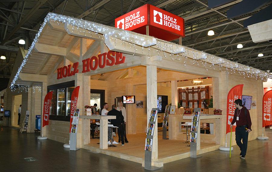 Выставка Деревянный дом