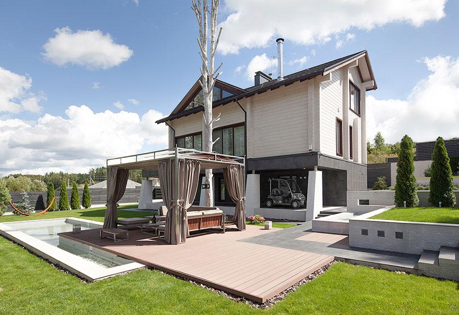 Красивые деревянные дома 2019